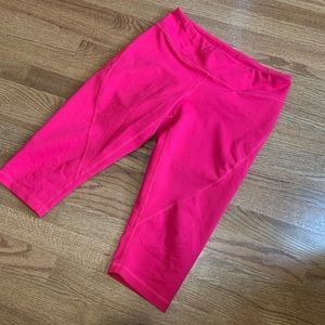 Zella Pink M Crop Legging